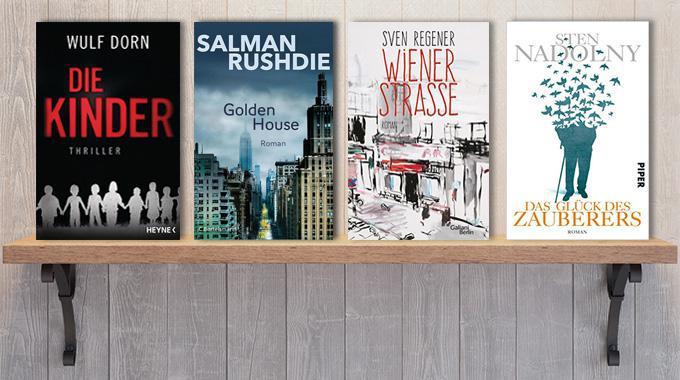 Wochenvorschau - Neue Bücher im September 2017 / Wulf Dorn, Sven Regener, Deutscher Buchpreis