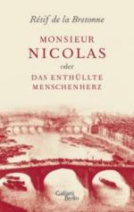 Monsieur Nicolas oder Das enthüllte Menschenherz - Rétif de la Bretonne