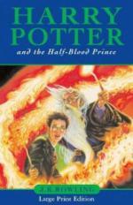 Harry Potter and the Half-Blood Prince, large print edition. Harry Potter und der Halbblutprinz, englische Ausgabe