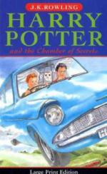 Harry Potter and the Chamber of Secrets, large print edition. Harry Potter und die Kammer des Schreckens, englische Ausgabe