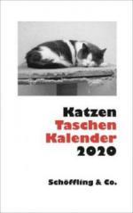 Katzen Taschenkalender 2020