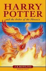 Harry Potter and the Order of the Phoenix. Harry Potter und der Orden des Phönix, englische Ausgabe