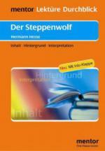 Hermann Hesse 'Der Steppenwolf'
