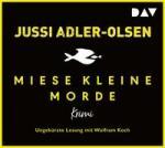 Miese kleine Morde. Crime Story, 2 Audio-CDs - Jussi Adler-Olsen