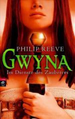 Gwyna, Im Dienste des Zauberers