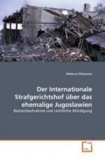 Der Internationale Strafgerichtshof über das ehemalige Jugoslawien