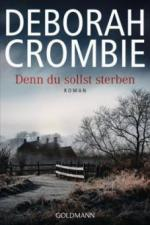 Denn du sollst sterben - Deborah Crombie