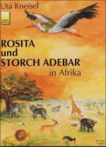 Rosita und Storch Adebar in Afrika