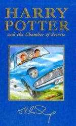 Harry Potter and the Chamber of Secrets, special edition. Harry Potter und die Kammer des Schreckens, englische Ausgabe