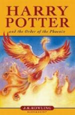 Harry Potter and the Order of the Phoenix. Harry Potter und der Orden des Phönix, englische Ausgabe