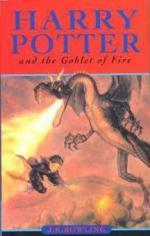Harry Potter and the Goblet of Fire. Harry Potter und der Feuerkelch, englische Ausgabe