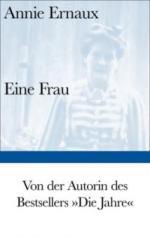 Eine Frau - Annie Ernaux