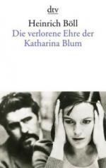 Die verlorene Ehre der Katharina Blum oder: Wie Gewalt entstehen und wohin sie führen kann