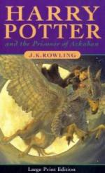 Harry Potter and the Prisoner of Azkaban, large print edition. Harry Potter und der Gefangene von Askaban, englische Ausgabe