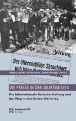 Die Presse in der Julikrise 1914