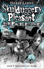 Skulduggery Pleasant - The Faceless Ones. Skulduggery Pleasant - Die Diablerie bittet zum Sterben, englische Ausgabe