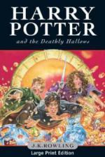 Harry Potter and the Deathly Hallows, large print edition. Harry Potter und die Heiligtümer des Todes, englische Ausgabe