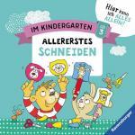 Im Kindergarten: Allererstes Schneiden