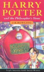 Harry Potter and the Philosopher's Stone. Harry Potter und der Stein der Weisen, englische Ausgabe