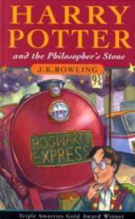 Harry Potter and the Philosopher's Stone. Harry Potter und der Stein der Weisen, englische Ausgabe