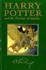 Harry Potter and the Prisoner of Azkaban, special edition. Harry Potter und der Gefangene von Askaban, englische Ausgabe