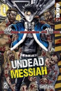 Undead Messiah Volume 2 manga (English) - Gin Zarbo