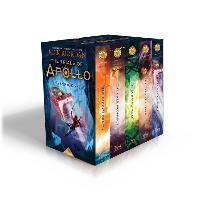 The Trials of Apollo 5-Book Hardcover Boxed Set - Rick Riordan