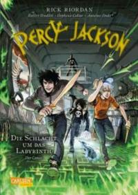 Percy Jackson (Comic) 4: Die Schlacht um das Labyrinth - Rick Riordan, Robert Venditti