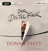 Der Distelfink, 3 Audio, - Donna Tartt