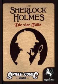 Spiele-Comic Krimi: Sherlock Holmes 01(Hardcover) -