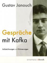 Gespräche mit Kafka - Gustav Janouch