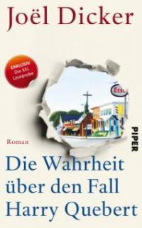 XXL-Leseprobe: Die Wahrheit über den Fall Harry Quebert - Joël Dicker