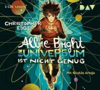 Albie Bright, 3 Audio-CDs - Christopher Edge