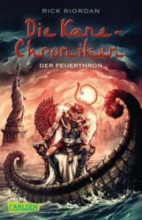 Die Kane-Chroniken - Der Feuerthron - Rick Riordan