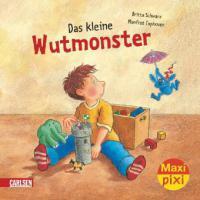 Das kleine Wutmonster - Britta Schwarz, Manfred Tophoven
