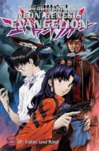 Neon Genesis Evangelion 12. Vater und Kind - Gainax, Yoshiyuki Sadamoto