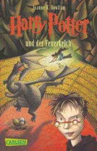 Harry Potter 4 und der Feuerkelch. Taschenbuch - Joanne K. Rowling