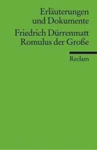 Friedrich Dürrenmatt 'Romulus der Große' - Hans Wagener, Friedrich Dürrenmatt