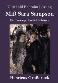 Miß Sara Sampson (Großdruck) -