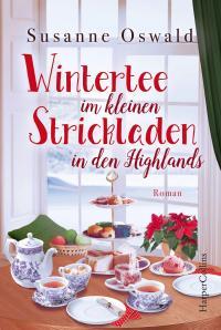 Wintertee im kleinen Strickladen in den Highlands -