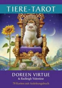 Tiere-Tarot - Doreen Virtue, Radleigh Valentine