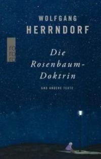 Die Rosenbaum-Doktrin - Wolfgang Herrndorf